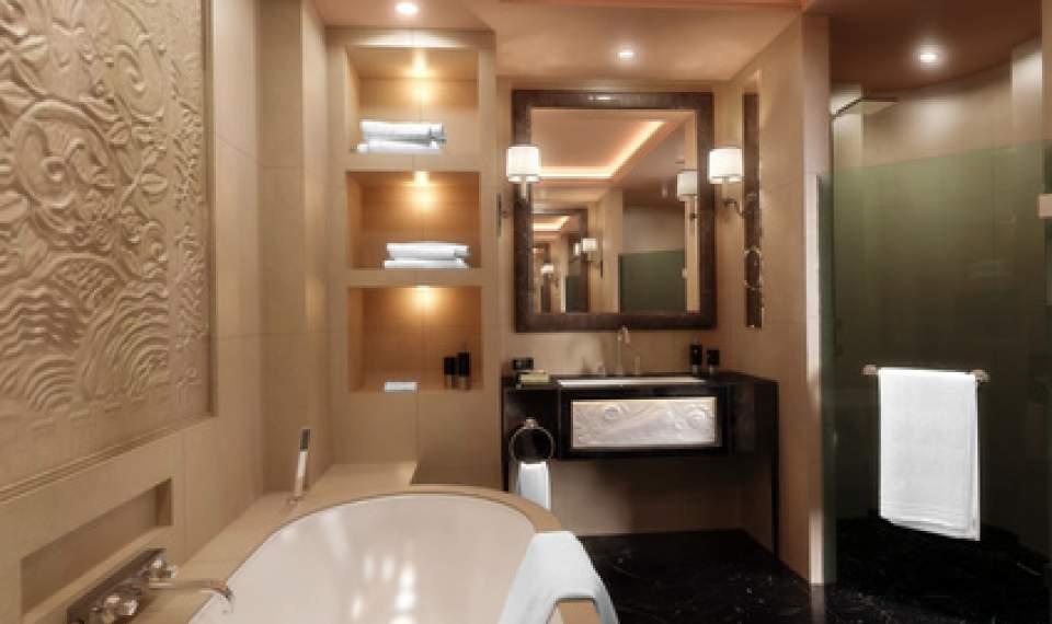 badgestaltung beleuchtung duschabtrennung und fliesen. Black Bedroom Furniture Sets. Home Design Ideas